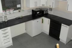 The Hall main kitchen area